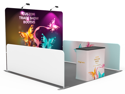 10x10ft Custom Trade Show Booth 01