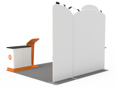 10x10ft Custom Trade Show Booth 05