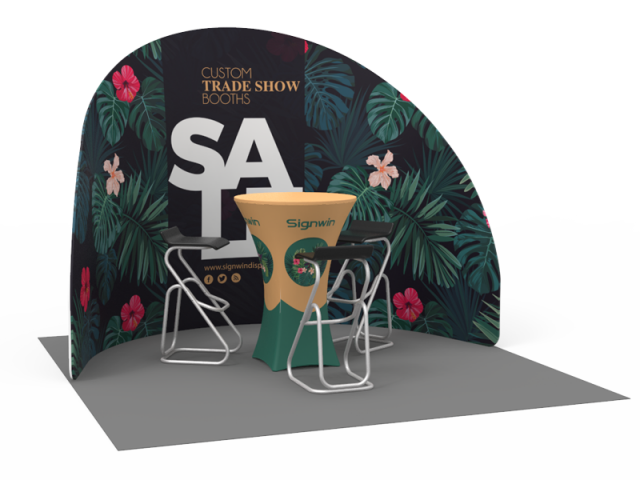 10x10ft Custom Trade Show Booth 10