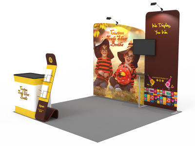10x10ft Custom Trade Show Booth 13