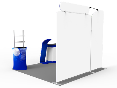 10x10ft Custom Trade Show Booth C
