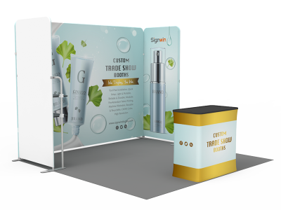 10x10ft Custom Trade Show Booth P