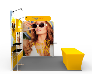 10x10ft Custom Trade Show Booth U