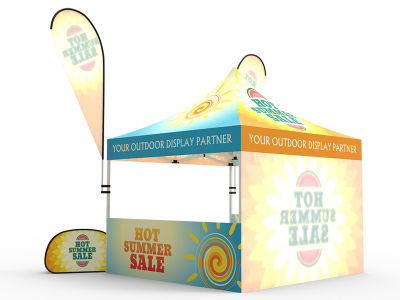 10x10 Custom Pop Up Canopy Tent Combos 11