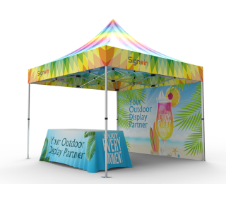 10x10 Custom Pop Up Canopy Tent Combos 15