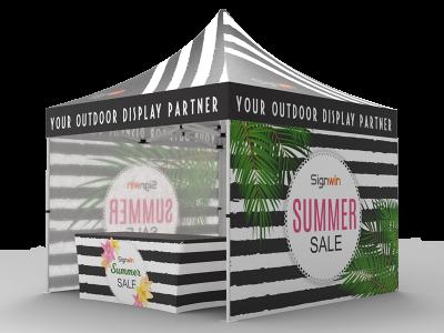 10x10 Custom Pop Up Canopy Tent Combos 16