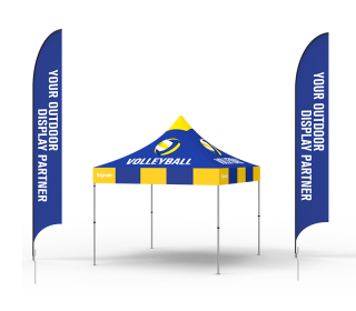 10x10 Custom Pop Up Canopy Tent Combos 17