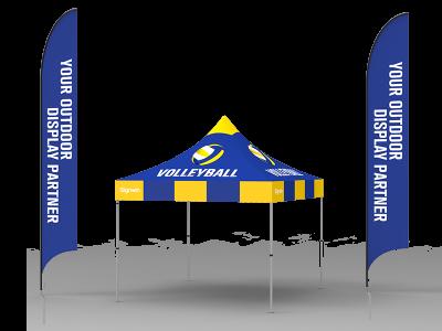 10x10 Custom Pop Up Canopy Tent Combos 17