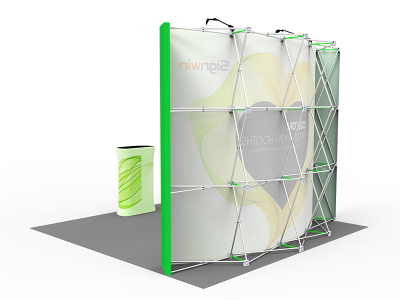 10x10ft Standard Trade Show Booth 10