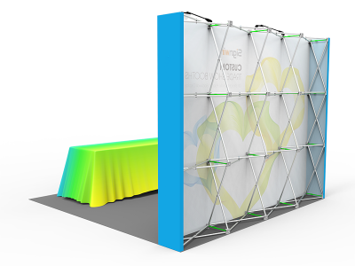 10x10ft Standard Trade Show Booth 15