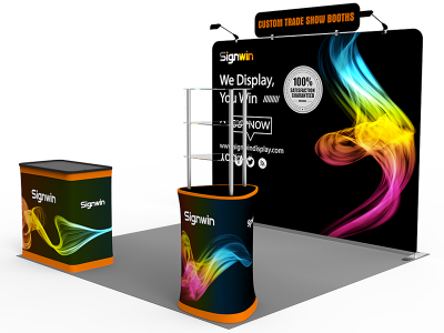 10x10ft Standard Trade Show Booth 23