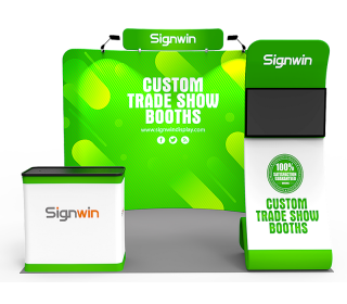 10x10ft Standard Trade Show Booth 24