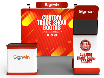 10x10ft Standard Trade Show Booth 25