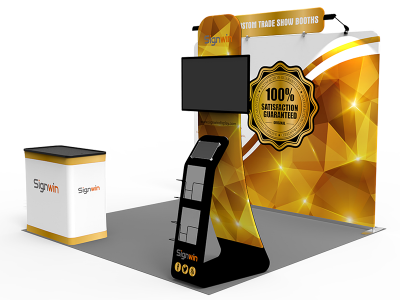 10x10ft Standard Trade Show Booth 29
