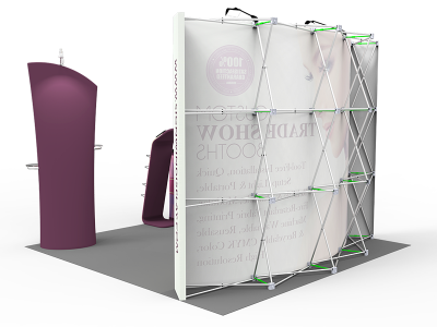 10x10ft Standard Trade Show Booth 30