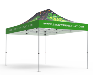 10x15 Custom Pop Up Canopy Tent