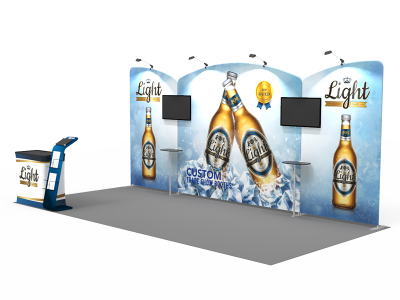 10x20ft Custom Trade Show Booth 02