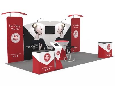 10x20ft Custom Trade Show Booth 07