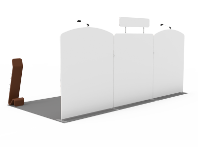 10x20ft Custom Trade Show Booth 08