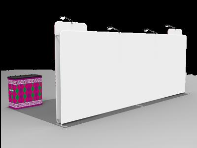 10x20ft Custom Trade Show Booth B