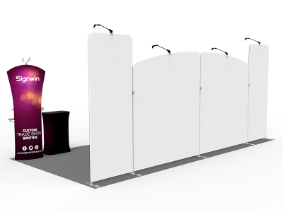 10x20ft Custom Trade Show Booth G