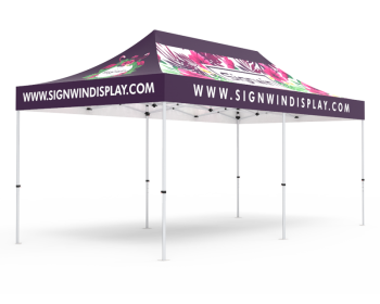 10x20 Custom Pop Up Canopy Tent
