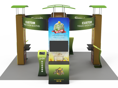 20x20ft Custom Trade Show Booth A