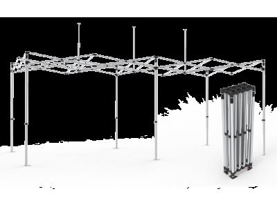 10x20 Custom Pop Up Canopy Tent & Double-Sided Full Backwall