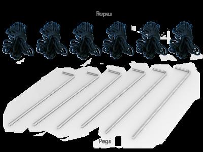 10x20 Custom Pop Up Canopy Tent & Single-Sided Full Backwall & 2 x Single-Sided Half Sidewalls