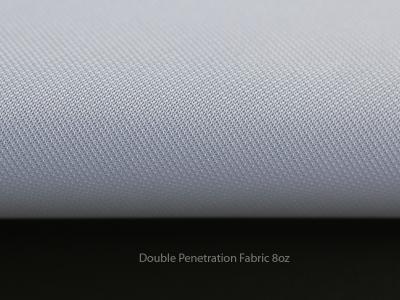 Double Penetration Fabric Pole Banner 8oz
