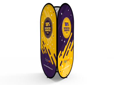 Large Tower Pop Up A-Frame Banner Stand