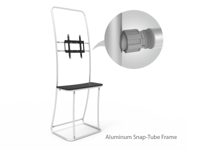 Monitor Display Table Banner Stand
