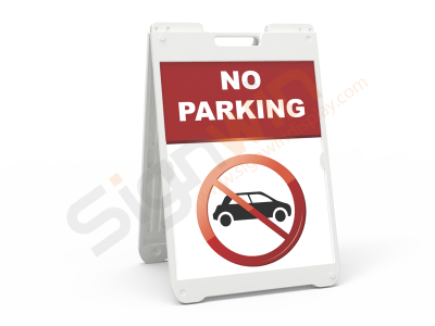 SimpoSign II A Frame Sign Stand Graphic Print for Notice & Warning 01