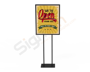 Poster Holder Display Print Stand for Notice & Warning 02