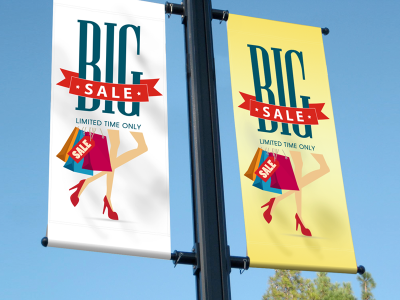 Oxford Fabric Indoor & Outdoor Large Banner 12oz