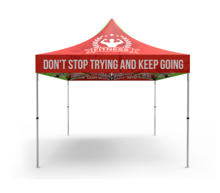 10x10 Custom Pop Up Canopy Tent