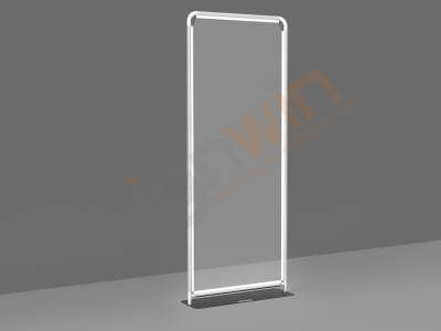 Sneeze Guard Wall Clear Protective Barrier Floor Standing